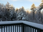 Waking up to snow