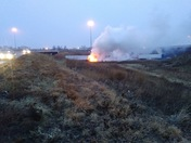 Semi fire I 80 2/18/18