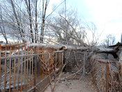 Strong winds in Chimayo 2/19/2018