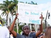 West boca high school protests.