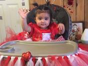 GiaVanna Valentina's first birthday