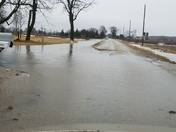 Flooded  road