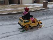 snow mobile