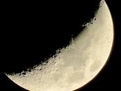 Landscapes sky moon