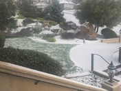 Snow in Sutter Creek!