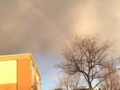 Full rainbow in Davis