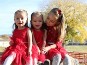 Three little girls with the most contagious smiles!