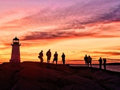 light house and photographers