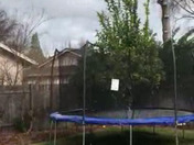 Vacaville small hail storm 13:22