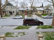 East Sacramento Hail Storm