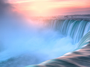 Morning Light - Horseshoe Falls