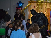 Batman appears at Mother-Son Dance in Clive