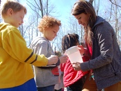 Kindergarteners get a glimpse of maple production