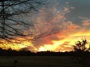 Tonight's sunset Wellston ok