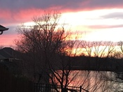 OKC sunset 2/28/18
