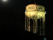 Moon over Red Oak