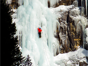 Waterton Park Ice Climbing