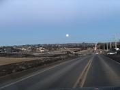 Yesterday full moon captured