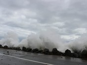 Angry Ocean at Jenness Beach