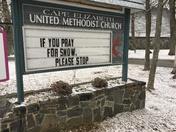 Cape Elizabeth United Methodist Church this afternoon.