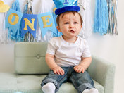 Jackson's First Birthday