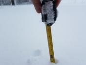 North Berwick 1 foot of snow