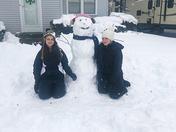 Celebrating International Women's Day with a SNOWWOMAN