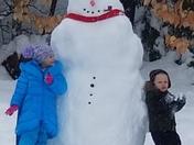 Alanna Brayden  & snowman