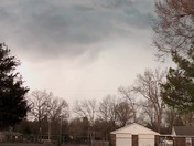 Storm brewing in Kibler, AR