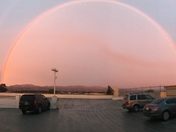 Rainbow over Salinas