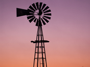 Evening Windmill