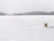 Ice Fishing Solitude