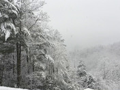 Snow at Leatherwood Mountain