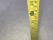 East Wakefield 19inches 5:55 pm