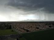 Storm entering Yuba City