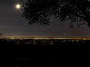 Tonight from El Dorado Hills looking at the Sacramento Valley