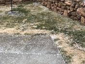 Hail in SAnta Fe