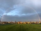 Rainbow in Roseville