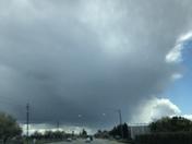 Threatening skies South of Yuba City