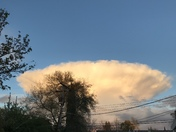 Thunderstorms over Folsom from Carmichael