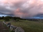 Taken at Folsom Point about 7:15- looking towards El Dorado Hills