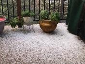 Hail in El Dorado Hills!