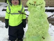 St. Patty's Day Snow Fun ☘️