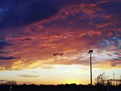 Oklahoma sunsets never get boring. Time to start enjoying the sky on fire.