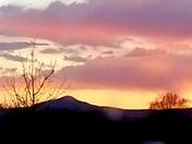 Beautiful sunset in Santa Fe