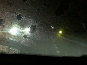 Video of really heavy rain and lightening from Thunderstorm warning