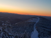 Sunset from Cannon mt