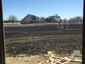 Cashion Grass Fire: Close call!
