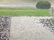 Hail storm in Ovideo