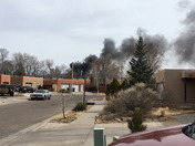 Short video of smoke from structural fire today.